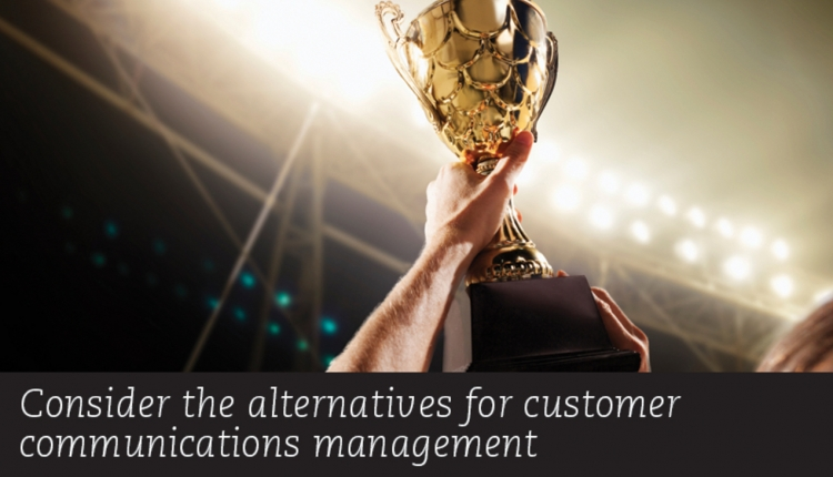 Alternatives for Customer Communications - DOCUMEN