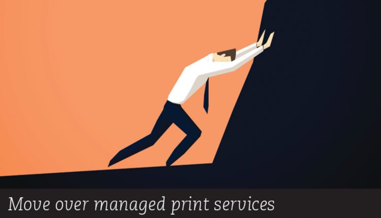 Move over managed print services - DOCUMENT Strate