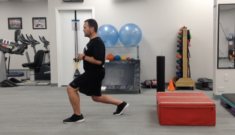 Isometric Split Squat