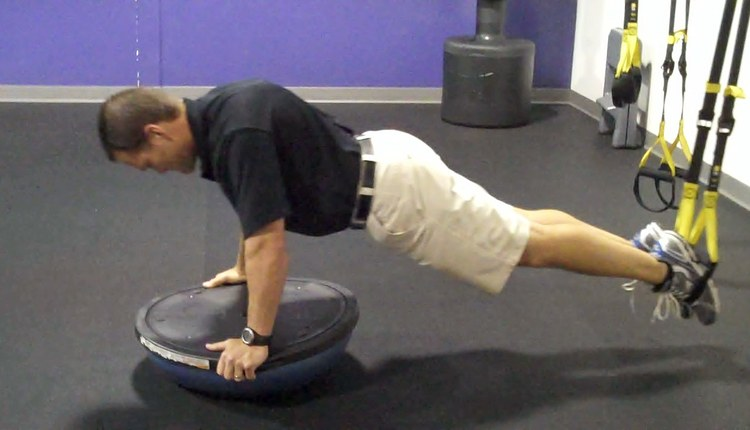 TRX BOSU Saw (start position)_0