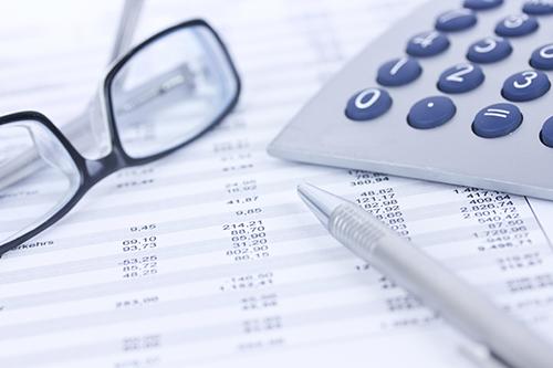 financials and calculator