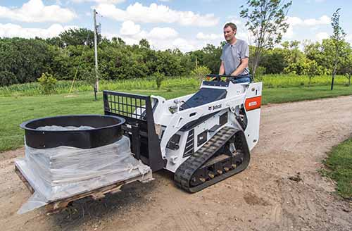 New Bobcat MT85 mini track loader has increased rated operating