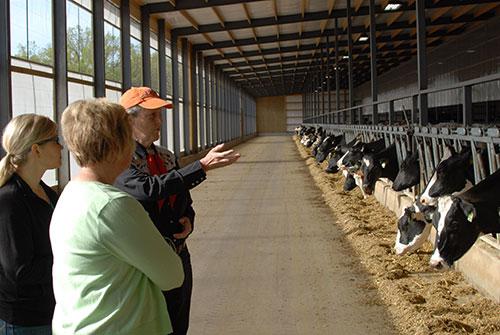 Temple Grandin at Vir-Clar Farm