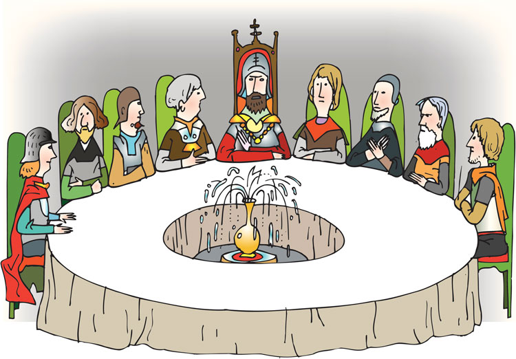 The Knights Of Agricultural Round Table, The Knight Of Round Table