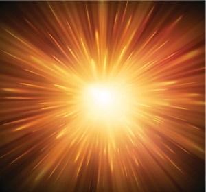 explosion light