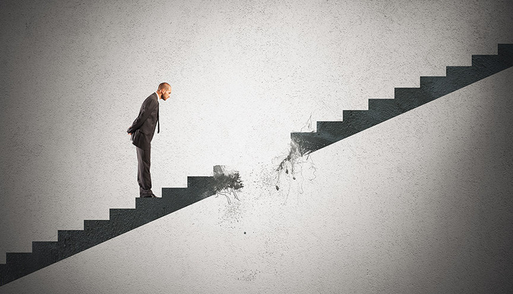 stairs broken